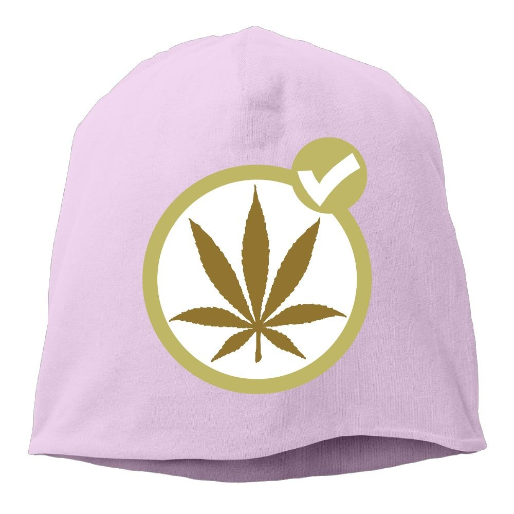 Janeither Headscarf Cool Weed Pattern Hip-Hop Knitted Hat for Mens Womens Fashion Beanie Cap