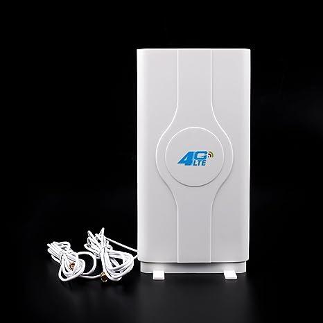 Areyourshop Indoor Blazing Fast 3G 4G 88dBi LTE MIMO Antenna 700MHz-2600MHz  2M SMA Wire