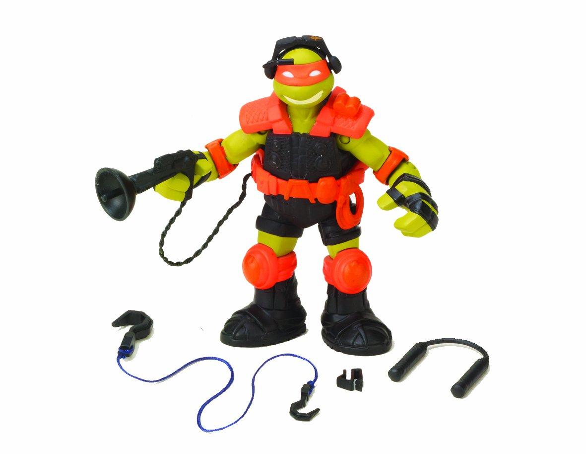 Tortugas Ninja - Figura de acción de sigilo de Michaelangelo [importado]