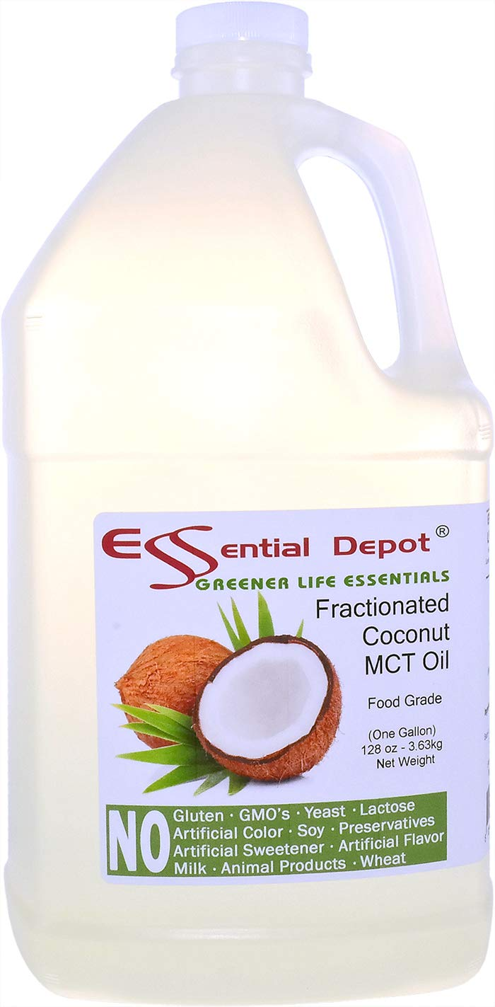 Coconut Oil - Fractionated - MCT Oil - Food Grade - 1 Gallon - 128 oz