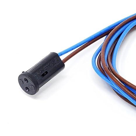 Capacidad G4 GZ4 GU4 con FEP Azul/Marrón Cable 110 cm para halógenas de baja tensión LED 12 V ranuras Capacidad 4 unidades): Amazon.es: Iluminación