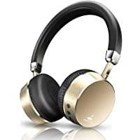 Meidong E6 Headphones, Noise Cancelling Headphones Wireless Headphones Bluetooth Headphones on Ear Headphones with Mic 8hs Playing Time for Cellphone Tablet Mp3 MP4