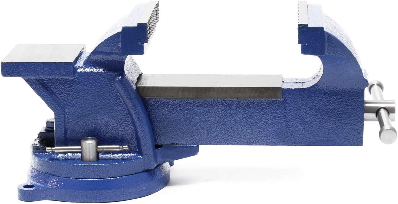 Tornillo de banco Light Duty Mordaza de banco 200 mm con yunque 8 Morsa de taller para uso ligero