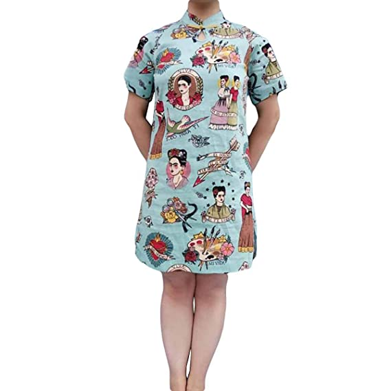 Frida Kahlo Camiseta Divertida De Manga Corta Suelta Una