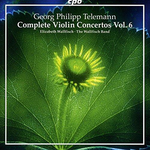 Telemann: Complete Violin Concertos, Vol. 6 Complete Violin Concertos Cd