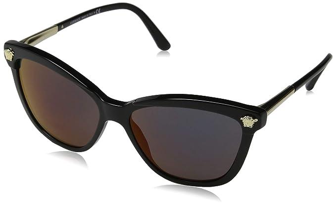 Versace GB1/W6, Gafas de Sol para Mujer, Black, 57: Amazon ...