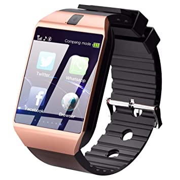 Bluetooth Smart Watch Smart Watch DZ09 Android Llamada De ...