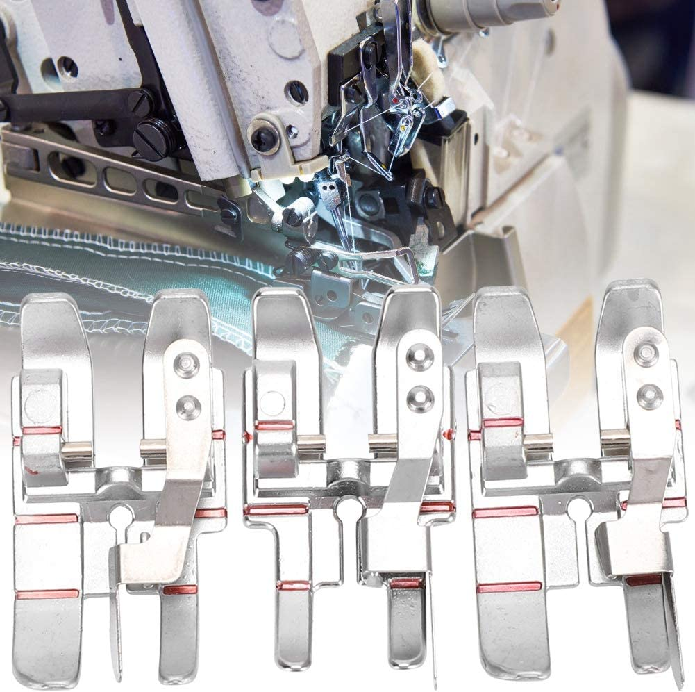 Cikonielf 3Pcs 1/4in Kit de máquina de Coser de pie Acolchado ...