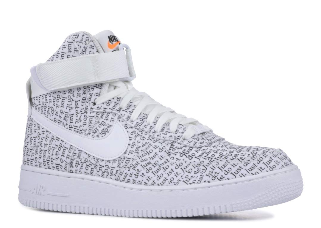 promo code 5e368 9d1d6 Galleon - Nike Mens Air Force 1 Hi  07 Lv8 JDI Basketball Shoe (8.5)