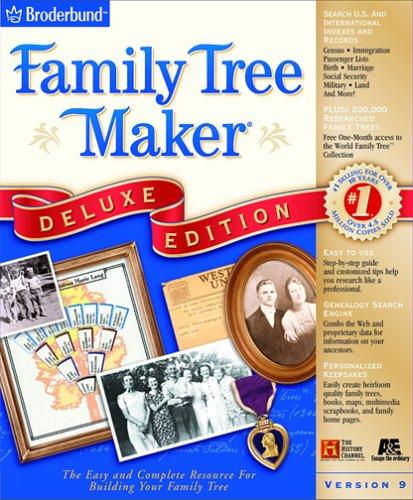 - Family Tree Maker 9.0 Deluxe