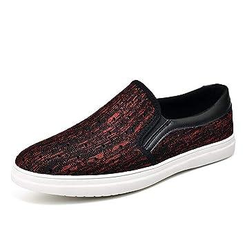 Zapatos mocasines, zapatos casuales para hombres, zapatos cómodos con volados Mesh Comfort, zapatos
