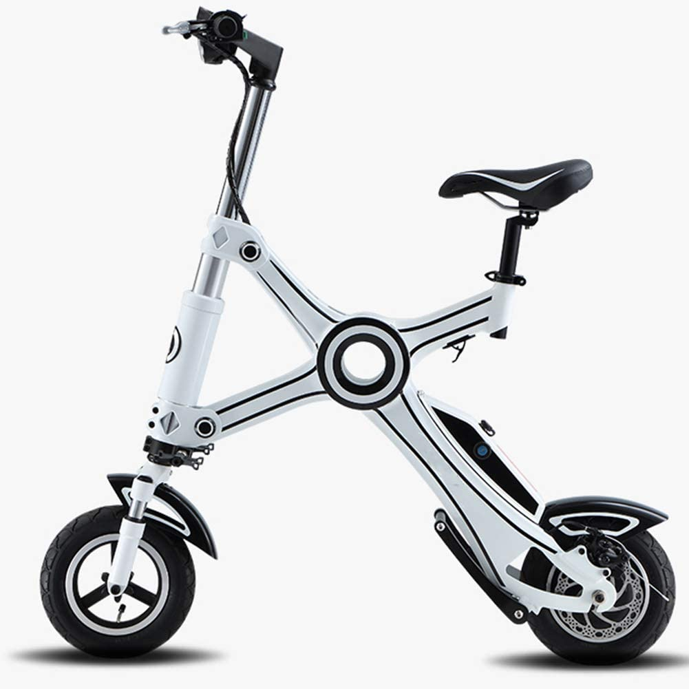 LTLSF Mini Bicicleta Eléctrica para Mujer, Bicicleta Eléctrica ...