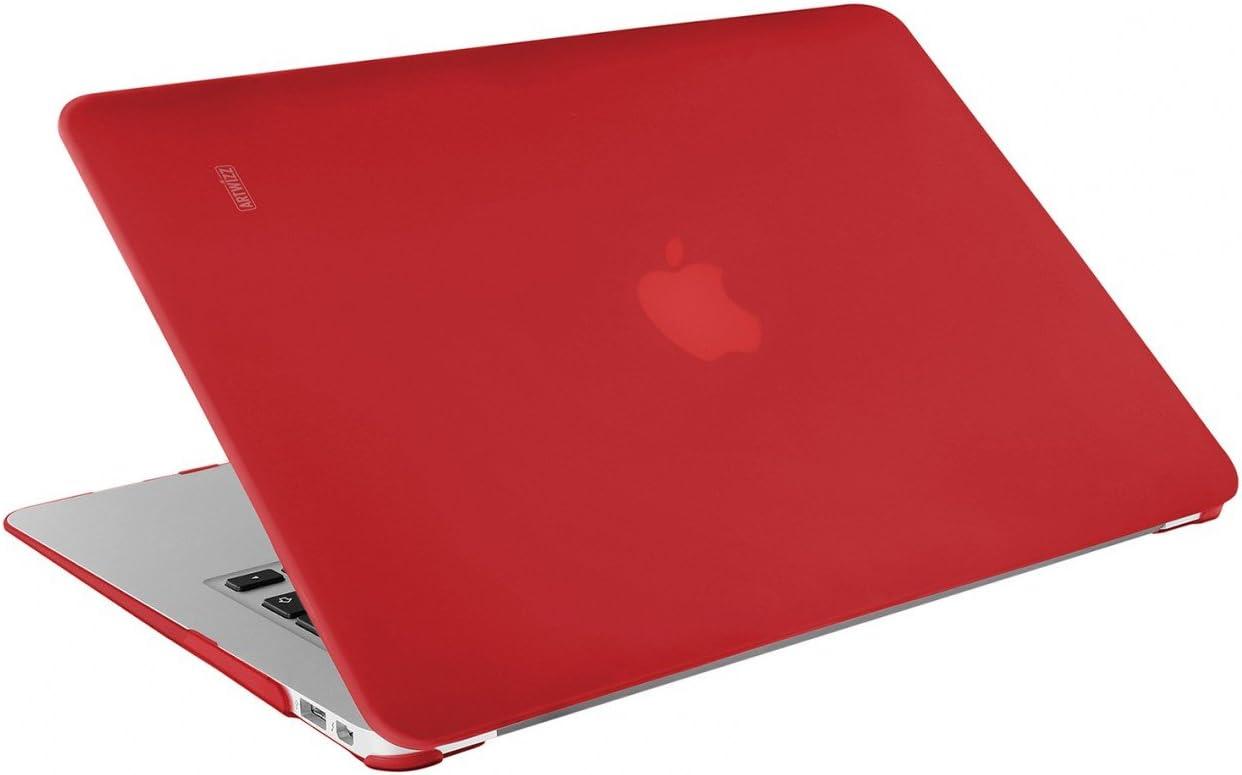13 Zoll mit Retina Display schwarz Artwizz 4432-1204 Rubber Clip f/ür MacBook Air