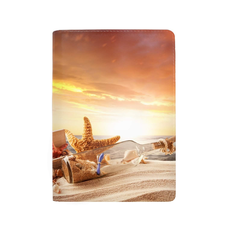 Passport Holder Case Colorful Amusement Park Protective Premium Leather RFID Blocking Wallet Case for Passport