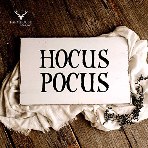 Hocus Pocus Sign | Halloween Decor | Rustic Sign | Farmhouse Sign | Farmhouse Decor | Farmhouse Fall Decor | Rustic Fall Decor | Shabby Chic Decor | Modern Farmhouse | French Country Decor