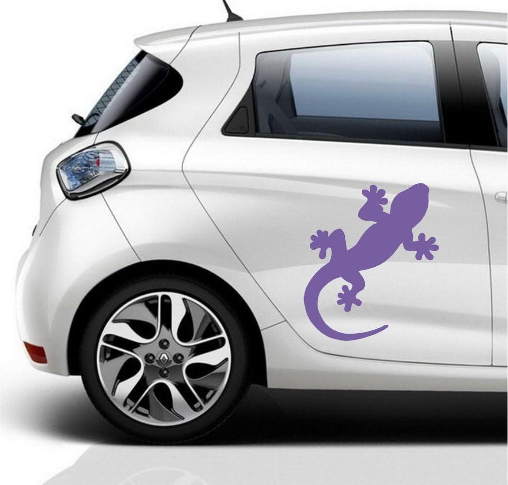 Gecko Auto Aufkleber S 60 Farben Zur Auswahl Geco Styling Wand Wandtattoo Autotattoo Tuning Auto