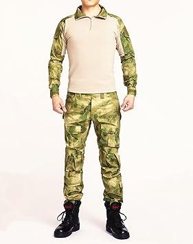 2ff70095aab7f Noga Commando Camouflage Frog Suits Camouflage Pants Tactical Pants Jungle Camouflage  Army Uniform (green ruins