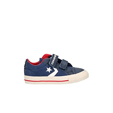 Converse Baby Boys  Lifestyle Star Player Ev 2v Ox Slippers  Amazon ... c41ed3367