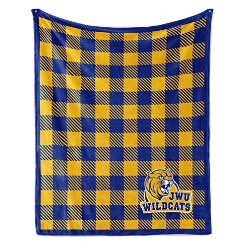 Official NCAA Johnson & Wales University Wildcats - Light Weight Fleece Blanket - -