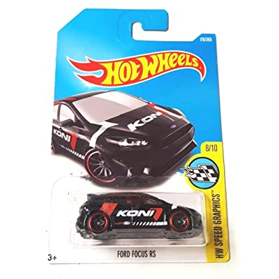 Hot Wheels 2020 HW Speed Graphics Ford Focus RS 176/365, Black: Toys & Games [5Bkhe1206319]