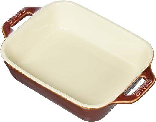 Cherry Staub Ceramic 5.5 x 4 Rectangular Baking Dish