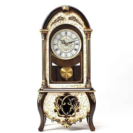 Table Clock Home Reloj de Mesa Relojes de Mesa para Sala de Estar Decoración Dormitorio Vintage