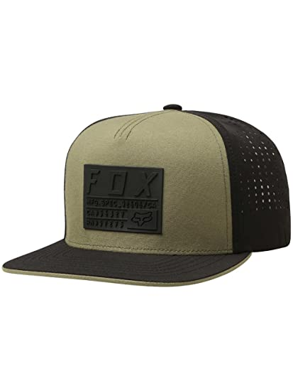 huge selection of 2156c 8eb7b ... switzerland fox racing mens redplate tech snapback adjustable hats one  size fatigue green at amazon mens