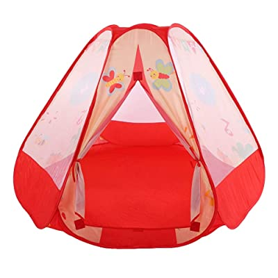 AYNEFY Kids Castle Tent, Children Indoor Outdoor Playhouse Game Mini Castle Tent for Kids Playing Game: Home & Kitchen