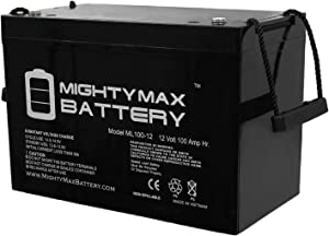 Mighty Max Battery 12V 100Ah Battery for Minnkota Trolling Motors Brand Product