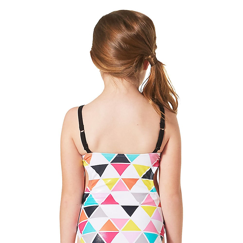 Disney Minnie Mouse Geometric Swimsuit for Girls White
