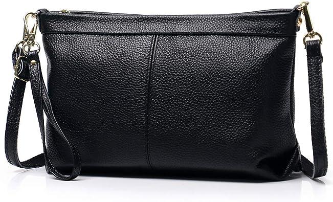 Women Handbag Shoulder Messenger Tote Genuine Leather Satchel Organiser Bag