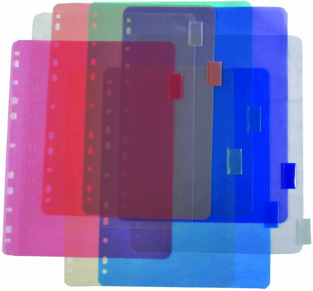 Green Oath Binder Index with 8 Tabs 5 Packs of 8 50264-30217 Assorted