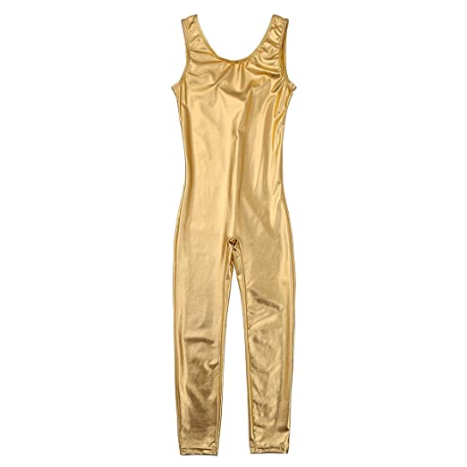 c585d22d4 Amazon.com  Alvivi Kid s Boys Girls Long Sleeve Unitard Jumpsuit ...
