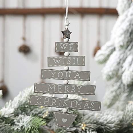 Holz Weihnachten Anhänger Weihnachtsbaum Christbaum Schmuck Dekoration 2019