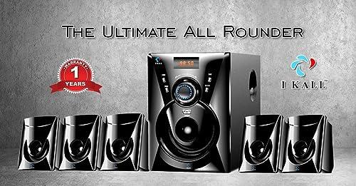 9. I KALL TA-111 Portable Home Audio Speaker