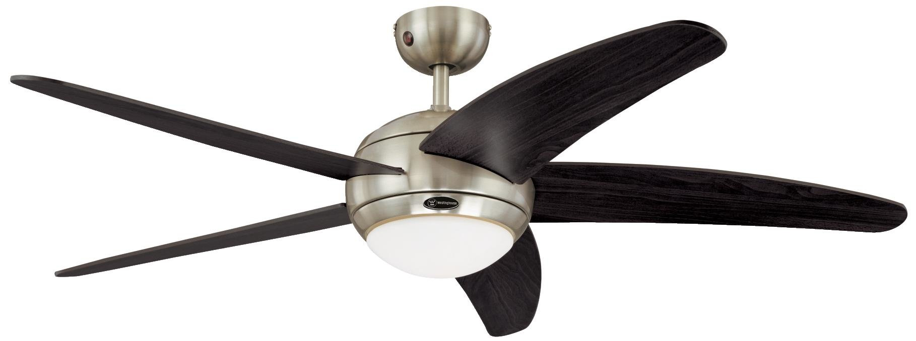 Westinghouse 7255740 Bendan Ventilateur de plafond R7s 80 W Métal Chrome Satin product image