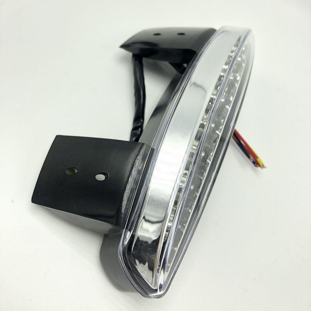 Ankia Moto Hach/ées arri/ère Fender Edge LED Frein Queue de plaque dimmatriculation Stop Course /à Pied lumi/ère Turn Signal lampe pour Harley Sportster Xl883/N 1200/N Xl1200/V Xl1200/X