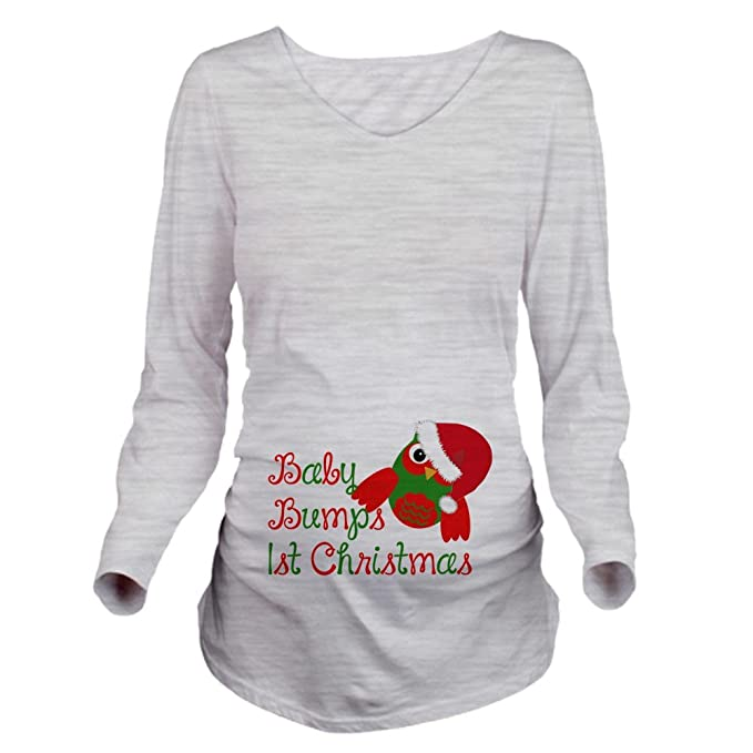 Christmas Maternity Tops Shirts Long Sleeve