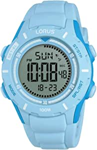 Lorus Girls Chronograph Digital Watch with Silicone Strap R2371MX9