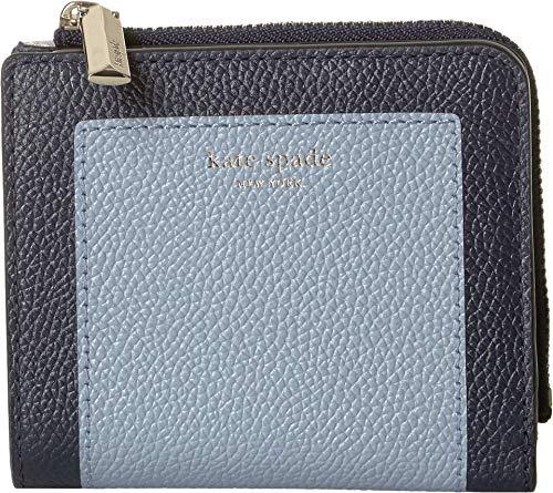 Kate Spade New York Women's Margaux Small Bifold Wallet Horizon Blue Multi One Size (Best Kate Spade Wallet)