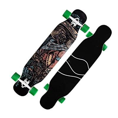 Aniseed Skateboards Cruiser Longboard Skateboard Deck Complete Hunter Hand 9.0-Inch X 42.0-Inch : Sports & Outdoors