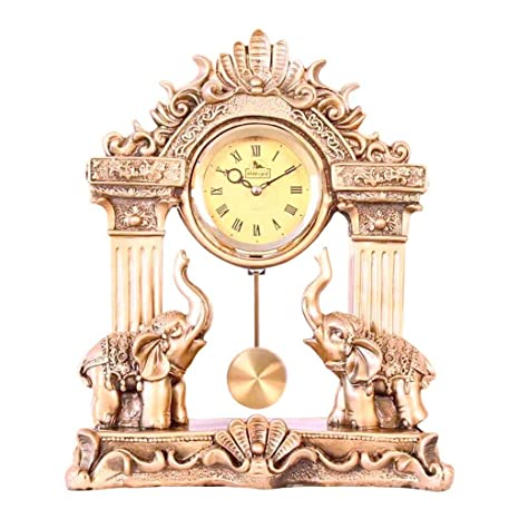 Reloj de Escritorio Relojes Familiares Elefante Retro ...