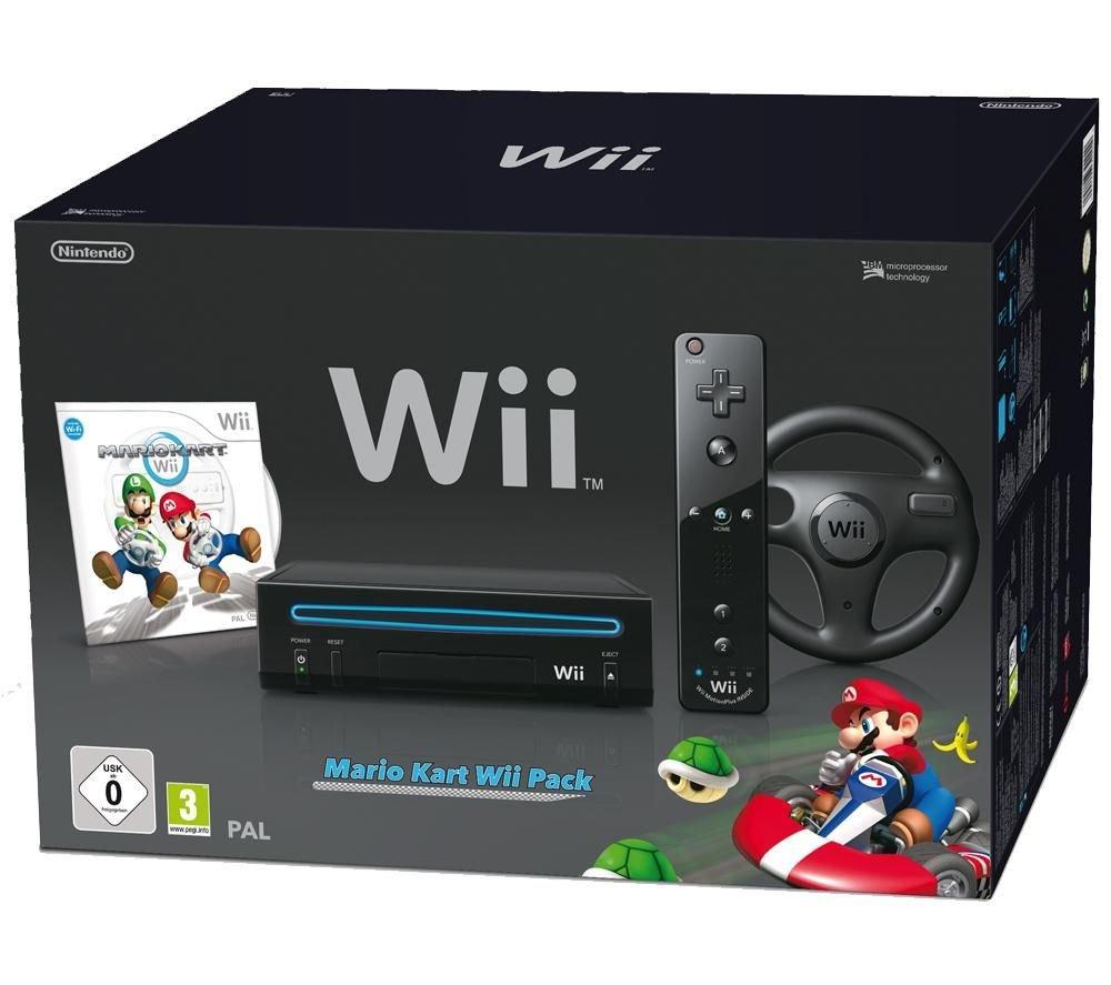 Mario Kart Wii Pack Schwarz [WII]