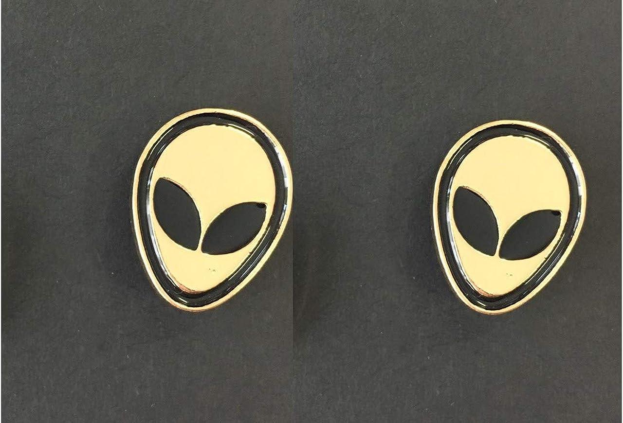 Beyond Alien Lot de 2 Broches en m/étal
