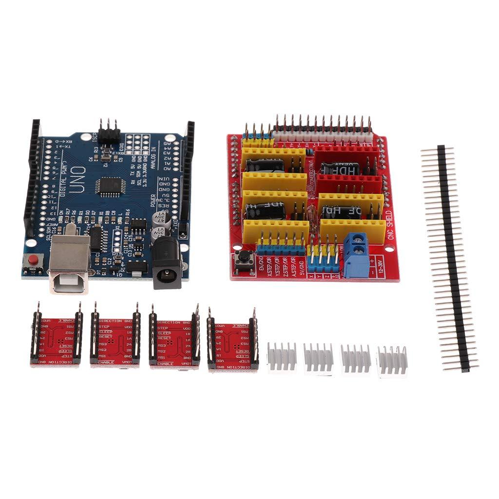 SM sunnimix módulo impresora 3d accesorios compressi CNC Shield V3 ...