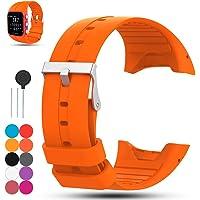 iFeeker Feskio Bracelet en Caoutchouc de Silicone de Remplacement pour Montre de Remplacement en Caoutchouc de Silicone Souple pour Polar M400 / M430 GPS