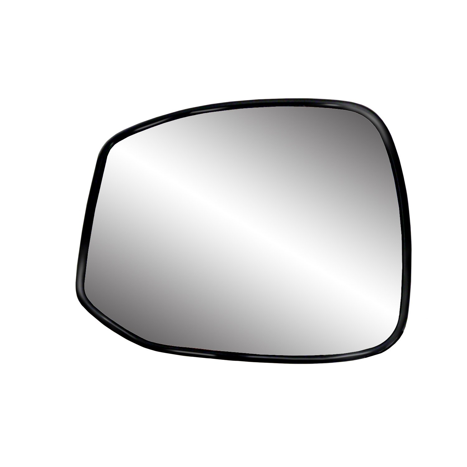 Fit System 30270 Honda Civic Right Side Heated Power Replacement Mirror Glass with Backing Plate