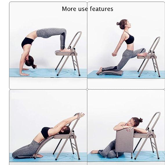 Iyengar Silla De Yoga Plegable Ancho/Soporte Lumbar 31 Mm ...