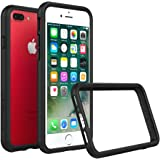 iPhone 7 Plus Case - RhinoShield [CrashGuard] Bumper [11 Ft Drop Tested] No Bulk [ShockProof] Thin Lightweight Protection - Slim Rugged Cover [Black]
