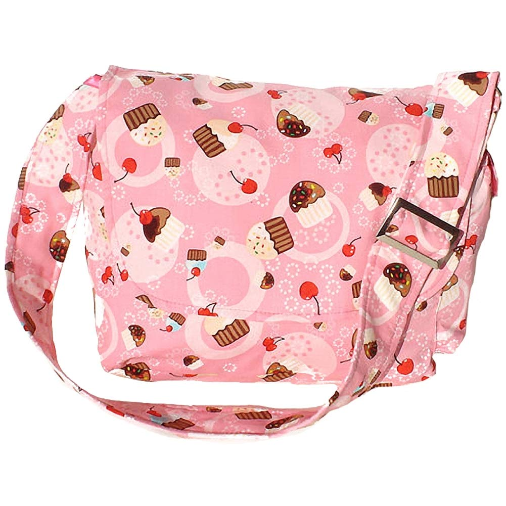 Hemet Cupcakes /& Cherries Messenger Bag